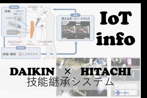 【IoTinfo】ダイキンと日立 IoTでベテランの技をデジタル化して新人育成 #86