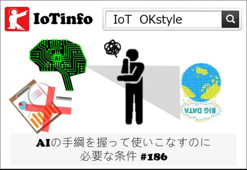 【IoTinfo】AIの手綱を握って使いこなすために必要な条件 #186