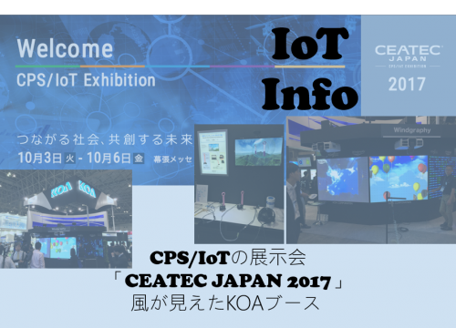 CEATEC JAPAN 2017 カムバック!風が見えるKOAブース #93