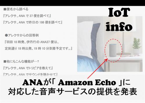 【IoTinfo】ANA 音声認識AIサービスに対応した新サ-ビスにチャレンジ! #121