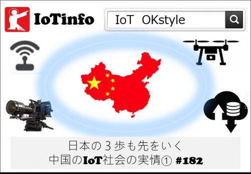【IoTinfo】日本の3歩も先をいく中国のIoT社会の実情① #182